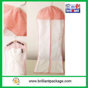 Cheap Simple Design PEVA Suit Cover/Garment Cover pictures & photos