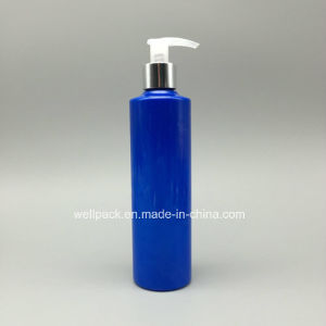 280ml Blue Plastic Bottle with Pump for Shampoo pictures & photos