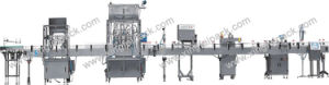 Linear Liquid Lotion Filling and Capping Machine pictures & photos