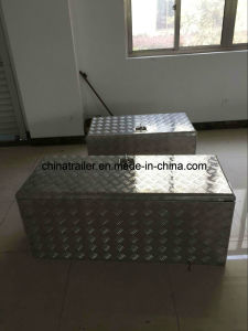 Checker Plate Aluminium Tool Box for Truck Cars Storage pictures & photos