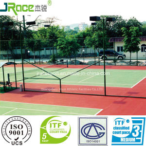 Non-Slip Polyurethane Tennis Sports Court Rubber Floor pictures & photos