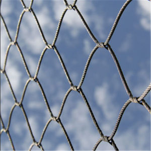 High Strength Decorative Hand Woven Stainless Steel Wire Rope Mesh pictures & photos