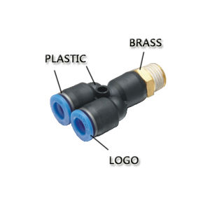 Pneumatic Fitting with The Lowest Price (PCF 12-04) pictures & photos