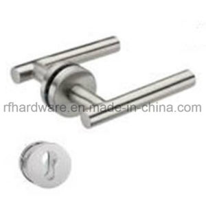 Stainles Steel Tube Level Door Handle (RL001) pictures & photos
