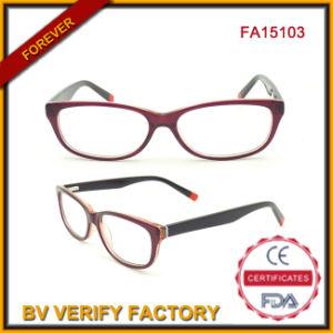 Eco-Friendly Optic Acetate Multi-Color Newest Designer Glasses (FA15013) pictures & photos