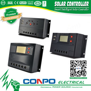 Ck-5A~60A, 12V/24V, LED/LCD, PWM Solar Controller pictures & photos
