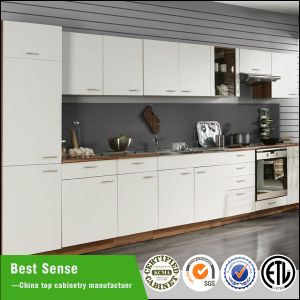 China best sense euro style high gloss matte modular for Best lacquer for kitchen cabinets