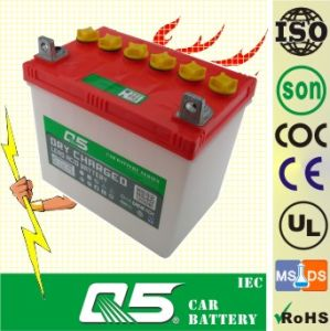 JIS-N32 12V32AH, Dry Charged Car Battery Auto Battery pictures & photos