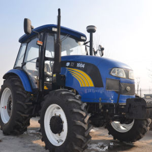 73.5kw/100HP Farm Tractor with F16+R8 Shuttle Gear Shift pictures & photos