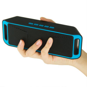 Flash Drive Supper Bass Sc208 Portable Bluetooth 4.0 Outdoor Wireless Speaker with TF Card pictures & photos