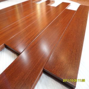 Flat Prefinished Cheap Brazilian Teak Wood Flooring pictures & photos
