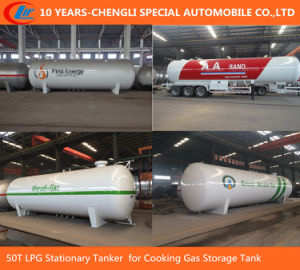 50t LPG Stationary Tanker for Cooking Gas Storage Tank pictures & photos