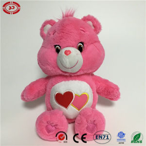 Pink Stuffed Soft Lovely Quality Toy with Heart Teddy Bear pictures & photos