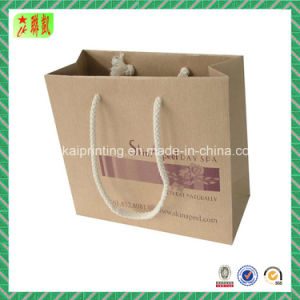 Paper Material Shopping Bag with Printed Logo pictures & photos