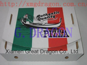 Locking Corners Pizza Box for Stability and Durability (CCB112) pictures & photos
