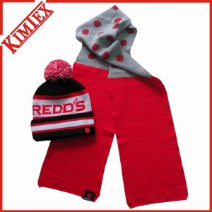 Winter Unisex Customs Acrylic Warm Knitted Set pictures & photos