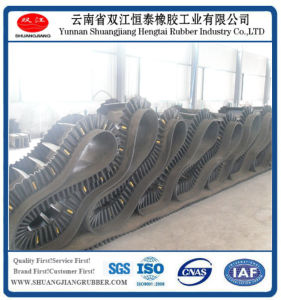 Hot Sales-Corrugated Sidewall Conveyor Belt Made in China Yunnan Kunming pictures & photos