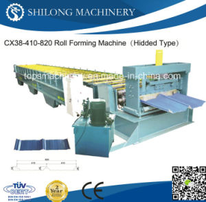 High Quality Glazed Tile Deck Panel Roll Forming Machine pictures & photos
