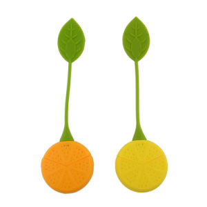 Fashion Silicone Rubber Lemon Shape Tea Infuser pictures & photos