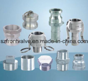 Investment Casting/Precision Casting Stainless Steel Screwed Equal Tee pictures & photos