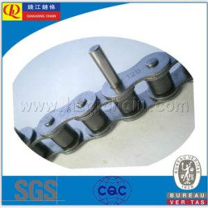 06c High Quality Short Pitch Carben Steel Transmission Roller Chain pictures & photos
