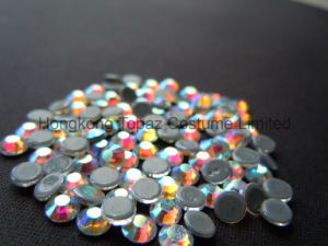 Best Shining Copy Swar Hot Fix Rhinestones for Textiles (ss10 Crystal ab/4 Grade) pictures & photos
