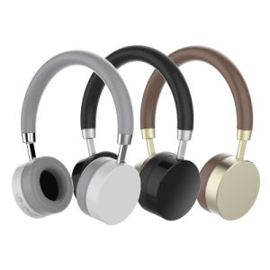 Latest Design V4.0 Bluetooth Headsets with Metal Material