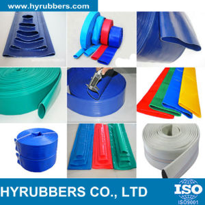 Agricultural Irrigation PVC Lay Flat Hose/Colorful PVC Layflat Hose pictures & photos