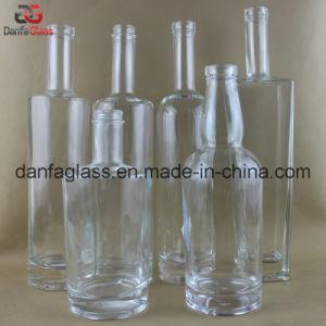 Extra Flint Liquor Glass Bottles (Multiple Label Decoration Doable) pictures & photos