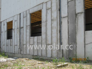 Polystyrene (EPS) Sandwich Panel Used for Partition pictures & photos