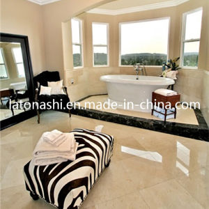 Natural Crema Marfil Beige Stone Marble Flooring Tile for Floor pictures & photos