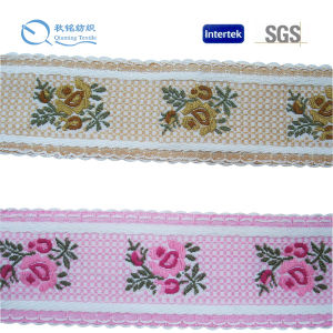 2016 Jacquard Logo Printed Pattern Nylon Webbing pictures & photos