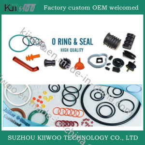 Silicone Rubber Products Silicone and Colorful Soft O-Rings pictures & photos