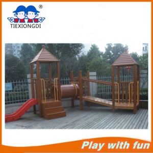 Kindergarten Wooden Outdoor Playground Equipment pictures & photos