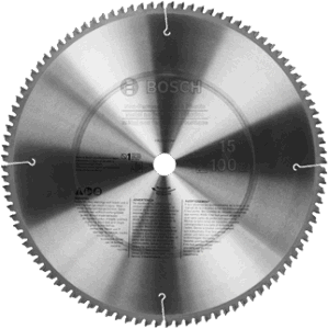 14 in. 100 Tooth Non-Ferrous Metal Cutting Circular Saw Blade