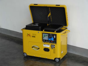 Open Top Silent Type Portable Diesel Generator with Easy Maintenance pictures & photos