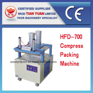 Pillow/Cushion/Quilt Compress Packing Machine with ISO9001: 2000 Certificate Approved (HFD-1000) pictures & photos