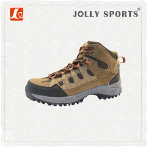 Comfort Trekking Outdoor Sports Hiking Waterproof Shoes for Men pictures & photos