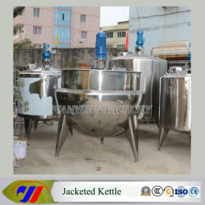1500L Large Capacity Steam Heating Jacketed Cooking Pot pictures & photos