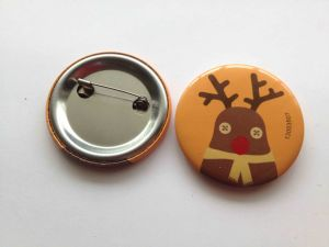 Cartoon Deer Image Pin Bottom Badge Promotional Gift pictures & photos