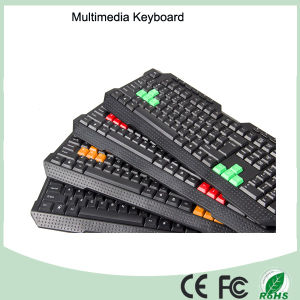 10% Discount Computer Accessories 116 Keys Multimedia Gaming Keyboard (KB-1688M) pictures & photos