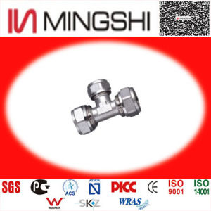 Unequal Tee Brass Fittings for Piping pictures & photos