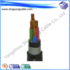 Copper Conductor Low Voltage Electrical Power Cable with XLPE Insulation and PVC Sheath pictures & photos