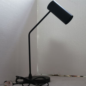 Modern Hotel Decorative Matt Black Iron Bedside Table Lamp pictures & photos