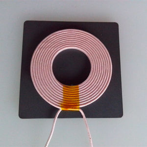 A10 WPC Wireless Charging Coil with Square Ferrite pictures & photos