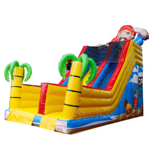 Pirate Dry Slide Inflatable Bouncer Slide Chsl665 pictures & photos