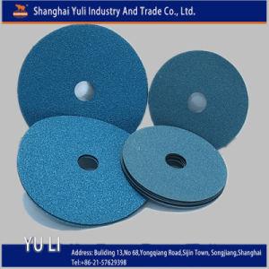 Vulcanized Zirconia Coarse Abrasive Fibre Disc-Grit 24 (001662)