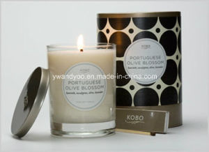 Scented Soy Glass Candle with New Design Box