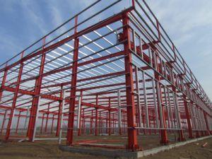 Prefab Large Span Steel Structure Workshop/Buildings (AISC) pictures & photos