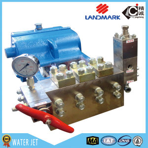 2015 Best Feedback Frequently Used 40000psi High Pressure Water Pump (FJ0018) pictures & photos